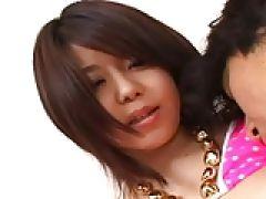 Asia Teen Girl lutscht Lolly